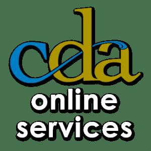 CDA Online Services
